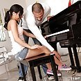 Tia Cyrus Ignores the Piano and Plays Teachers Organ Instead - image control.gallery.php