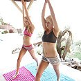 Sierra Navadah and Dani Desire Do Naked Yoga - image control.gallery.php