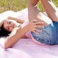 Lovely and Leggy Teen In Jean Shorts - image control.gallery.php