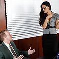 Hot Brunette Secretary Puts Out - image control.gallery.php