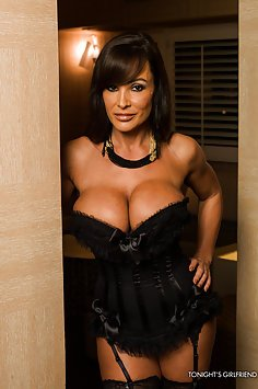 Super Hot Lisa Ann Lingerie PSE Session