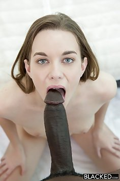 Her Boyfriend Lets her Try a Big Black Cock