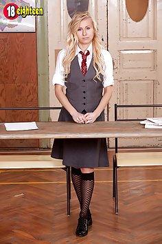 Horny Schoolgirl Vanessa Staylon