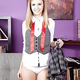 Rachel James Flashes Her Schoolgirl Panties and Tiny Tits - image control.gallery.php