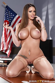 Brooklyn Chase Is the New Busty Teacher