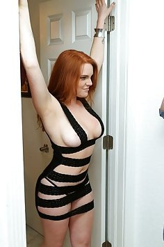 Horny Redhead With Nice Tits Gets Schlonged