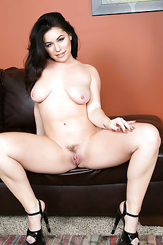 Bella Noire and Her Dildo